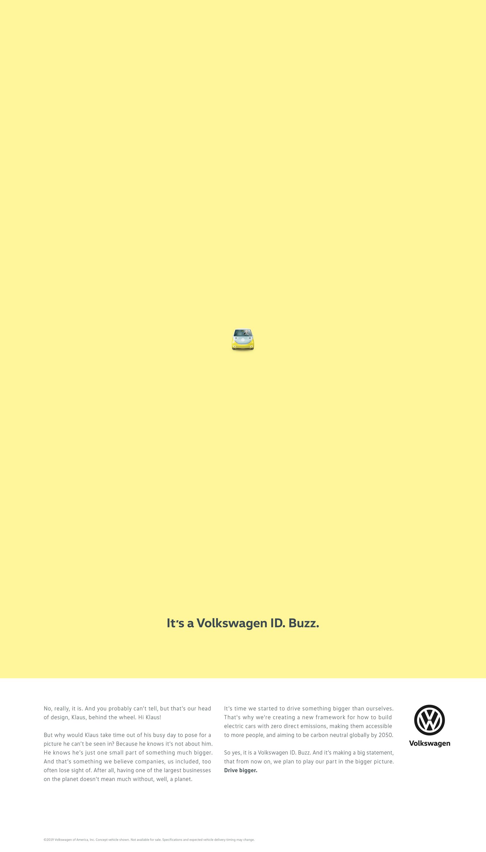 VW Drive Bigger