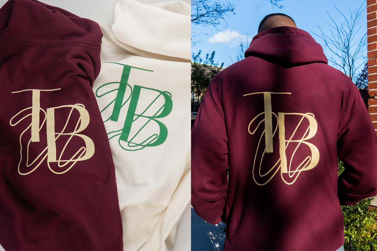 Blooming Union hoodie