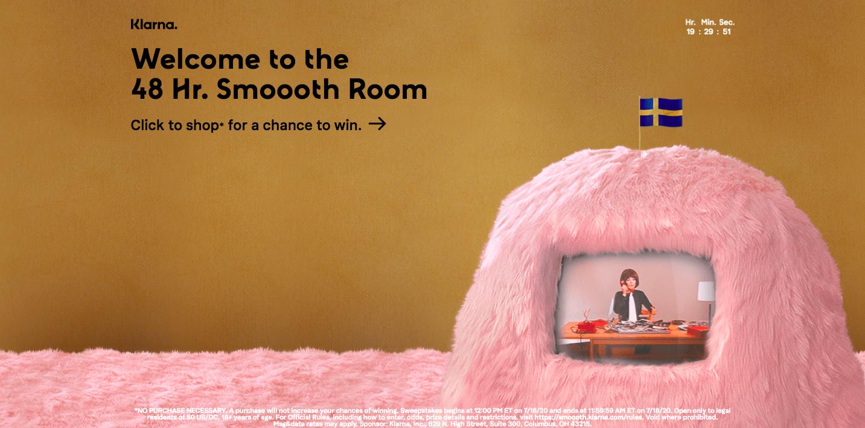 Klarna smooth room