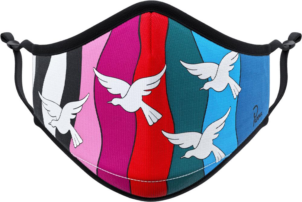 Parra The Birds Vistaprint mask full color