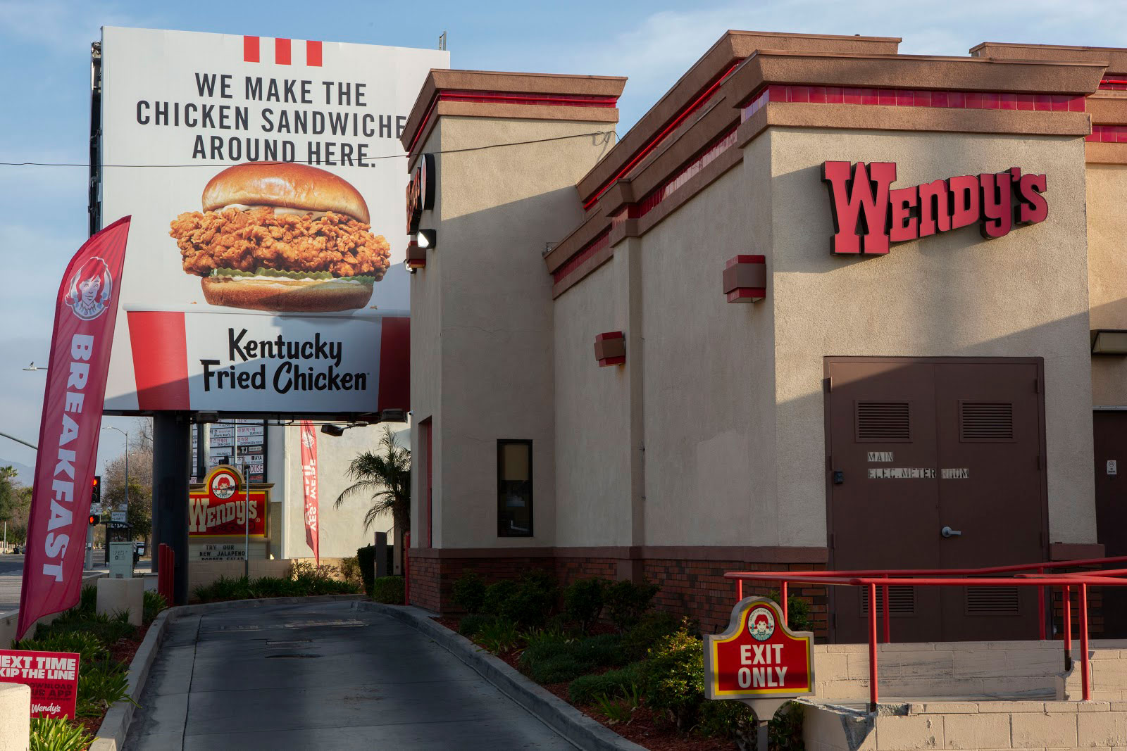 KFC LA billboard