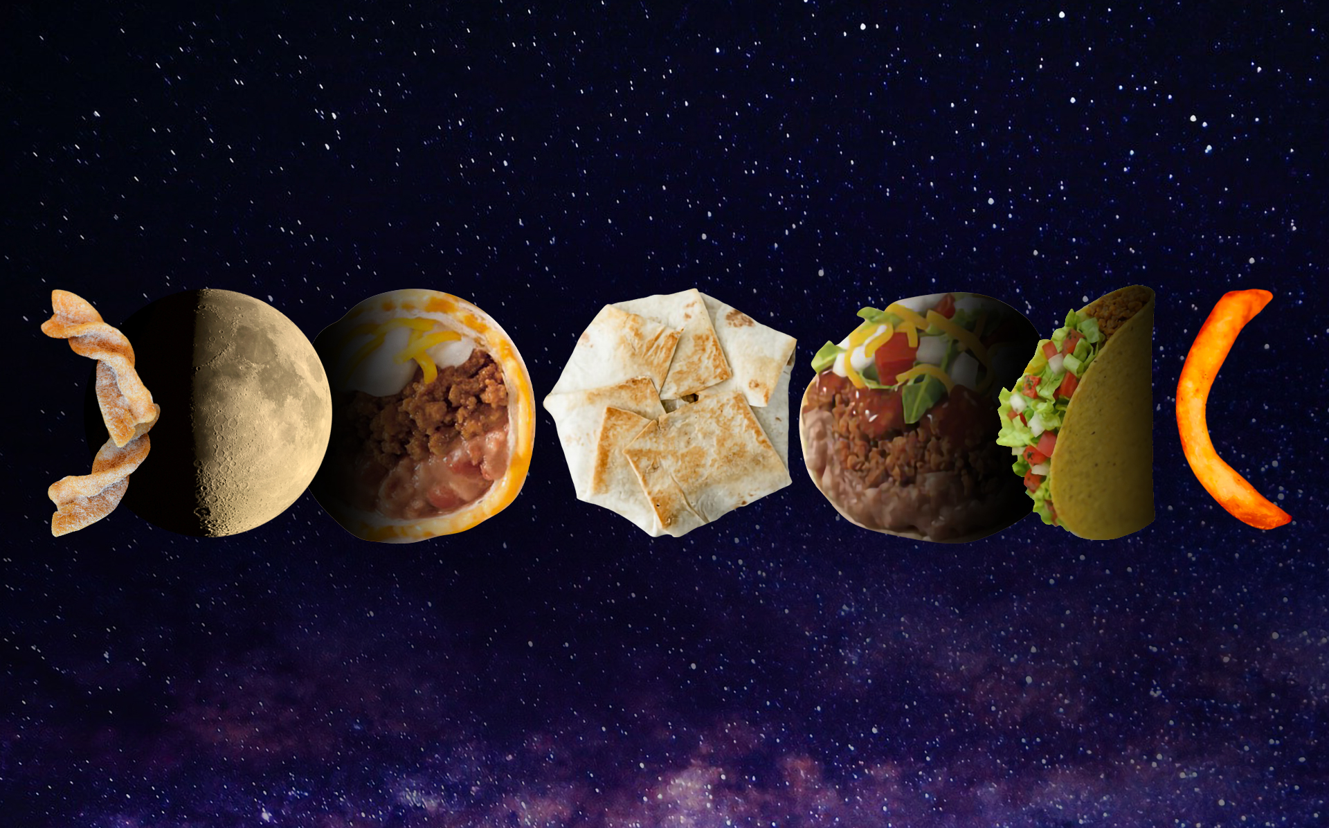 taco moon lunar phases