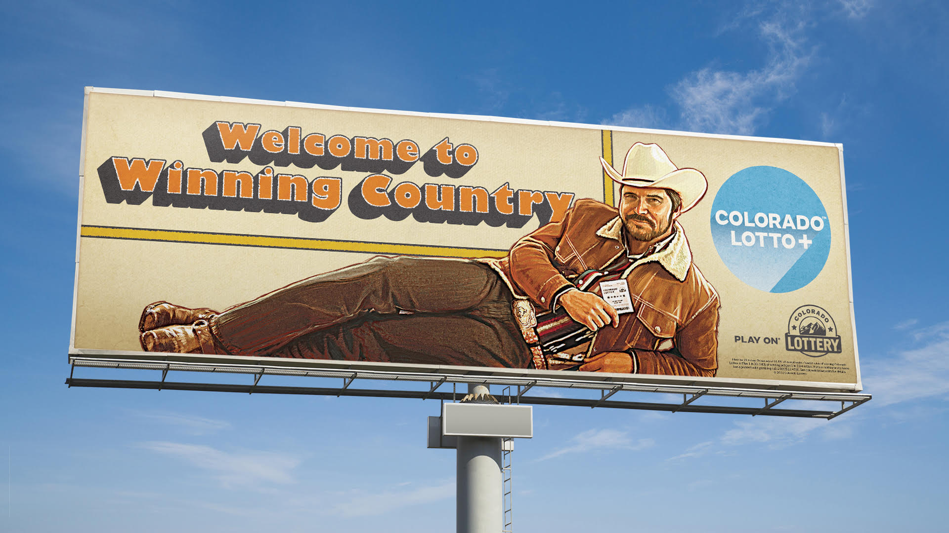 Colorado Lottery billboard 1