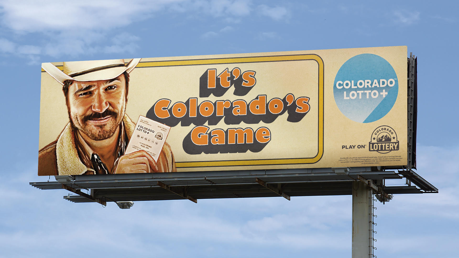 Colorado Lottery billboard 2