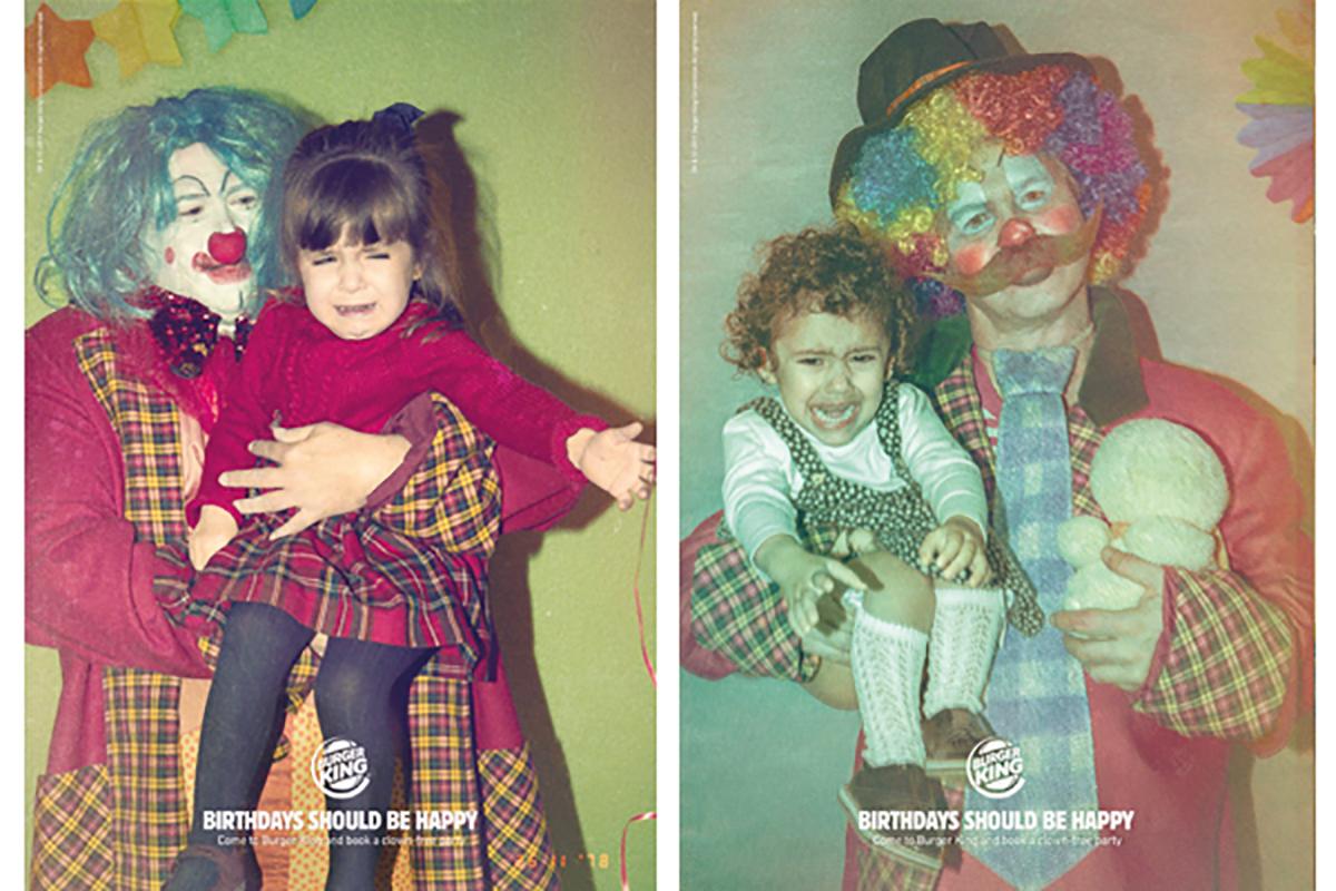 More Burger King Clown-Free Birthday ads