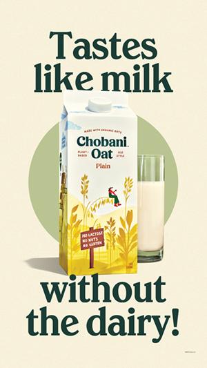 Chobani Almost Milk