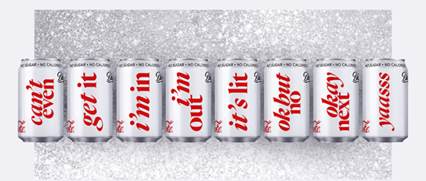 Diet Coke You Be You cans