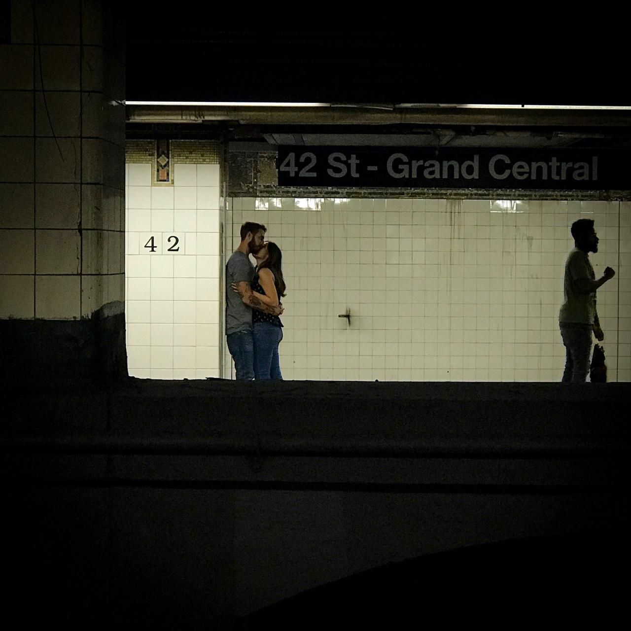 Subway love Eric Lau
