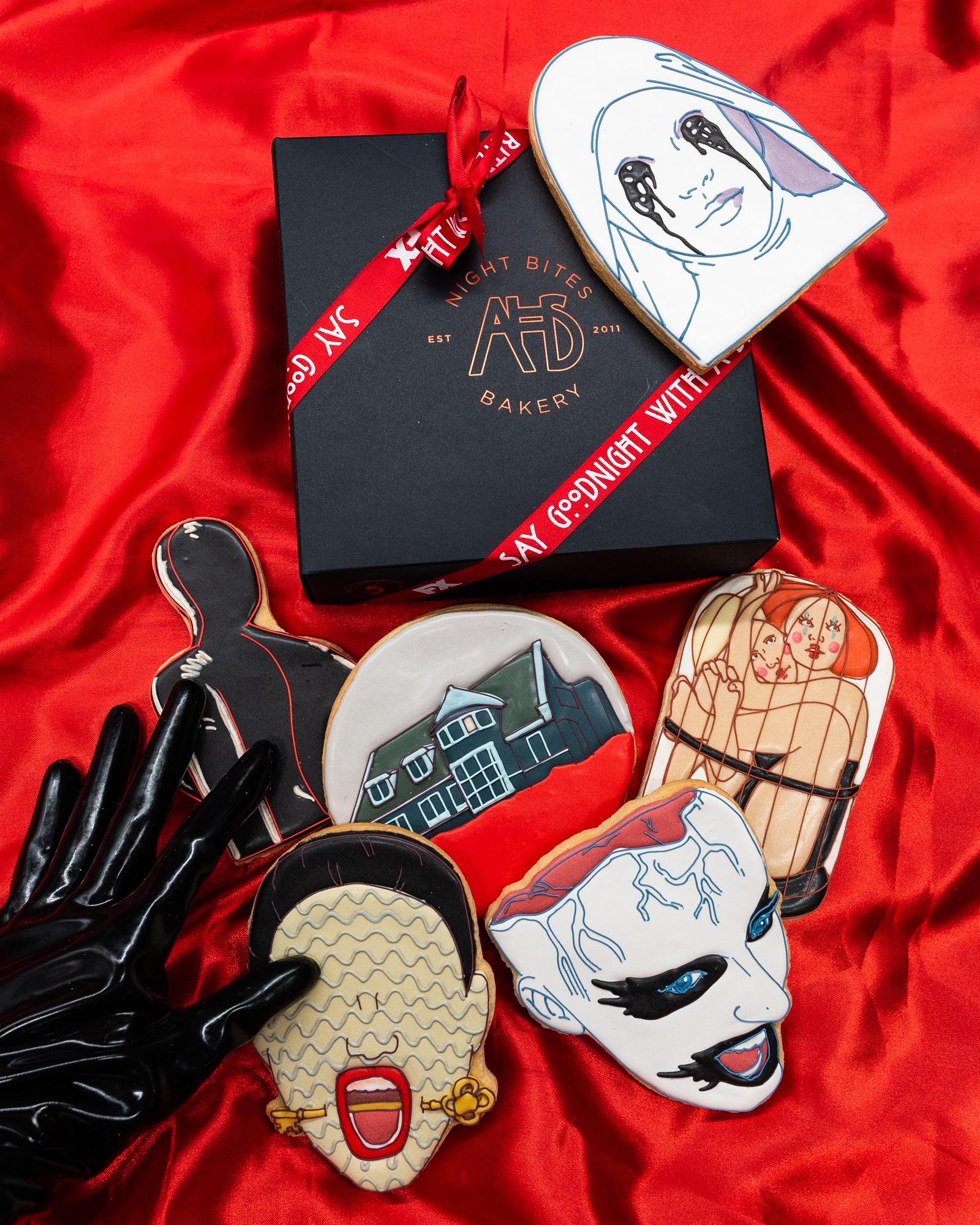 American Horror Story cookie designs