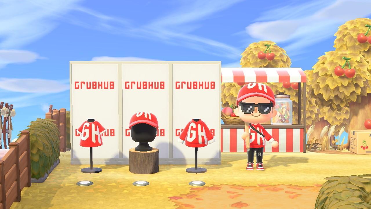Grubhub Animal Crossing