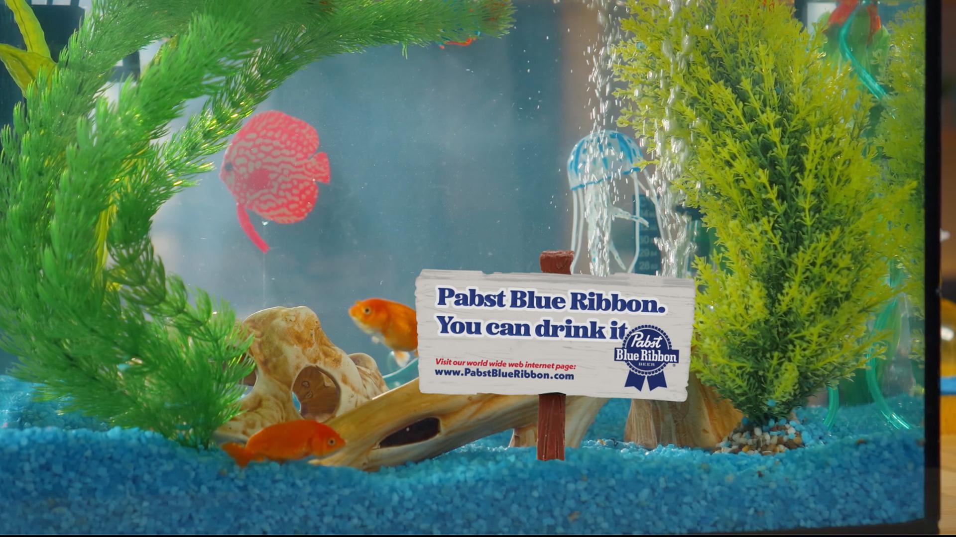 PBR fish bowl billboard