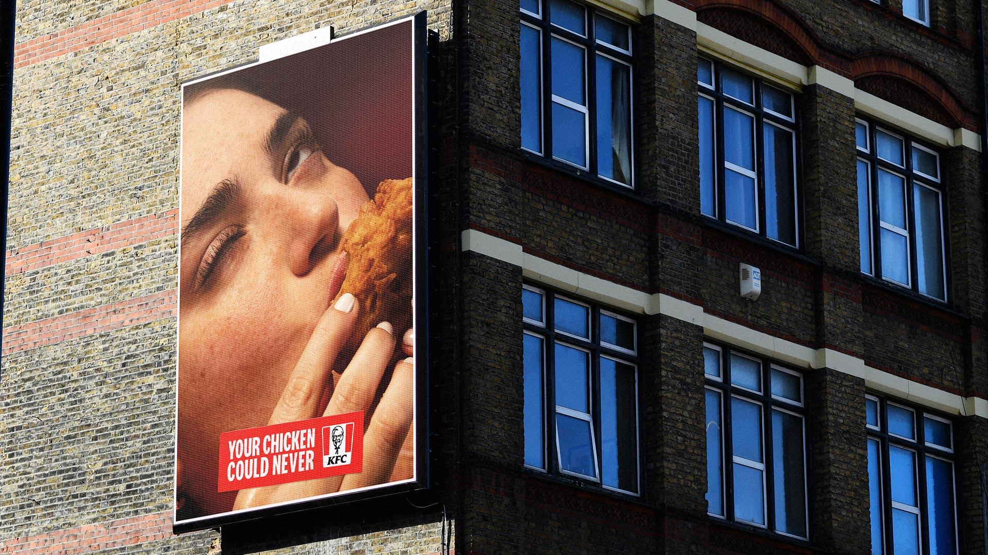 KFC Billboard