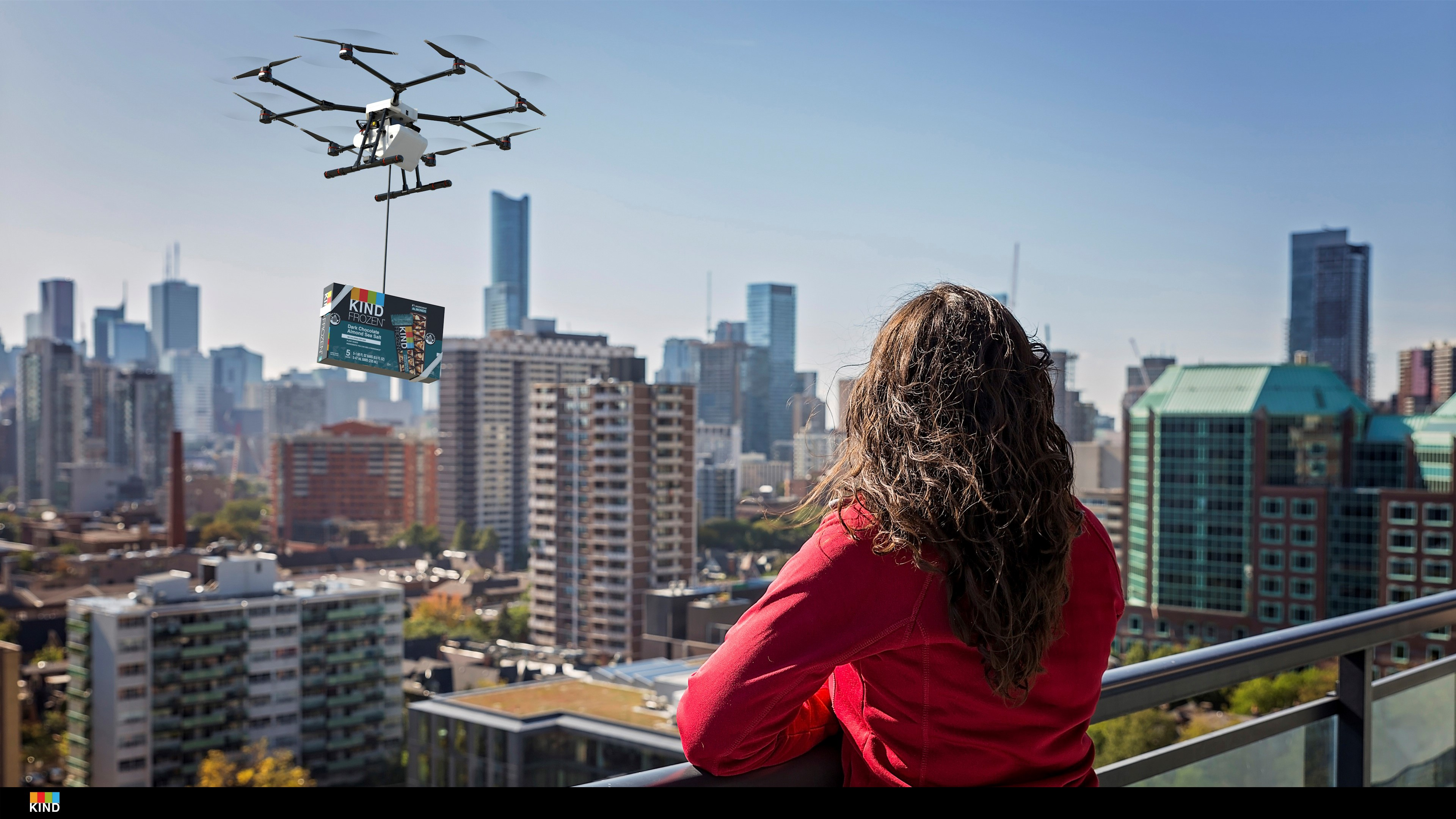 KIND drone delivery