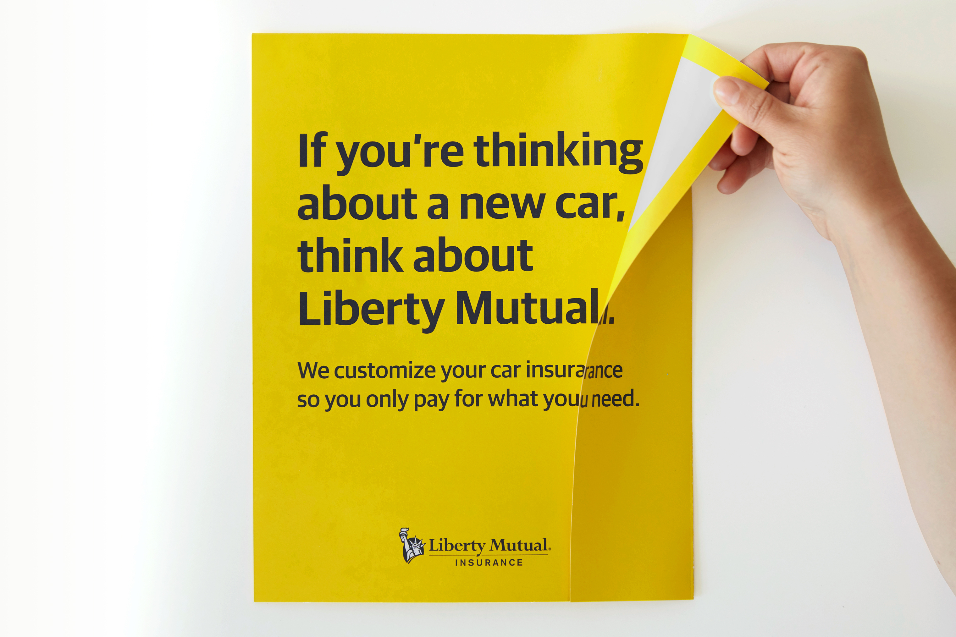 Liberty Mutual takes a page from perfume ads