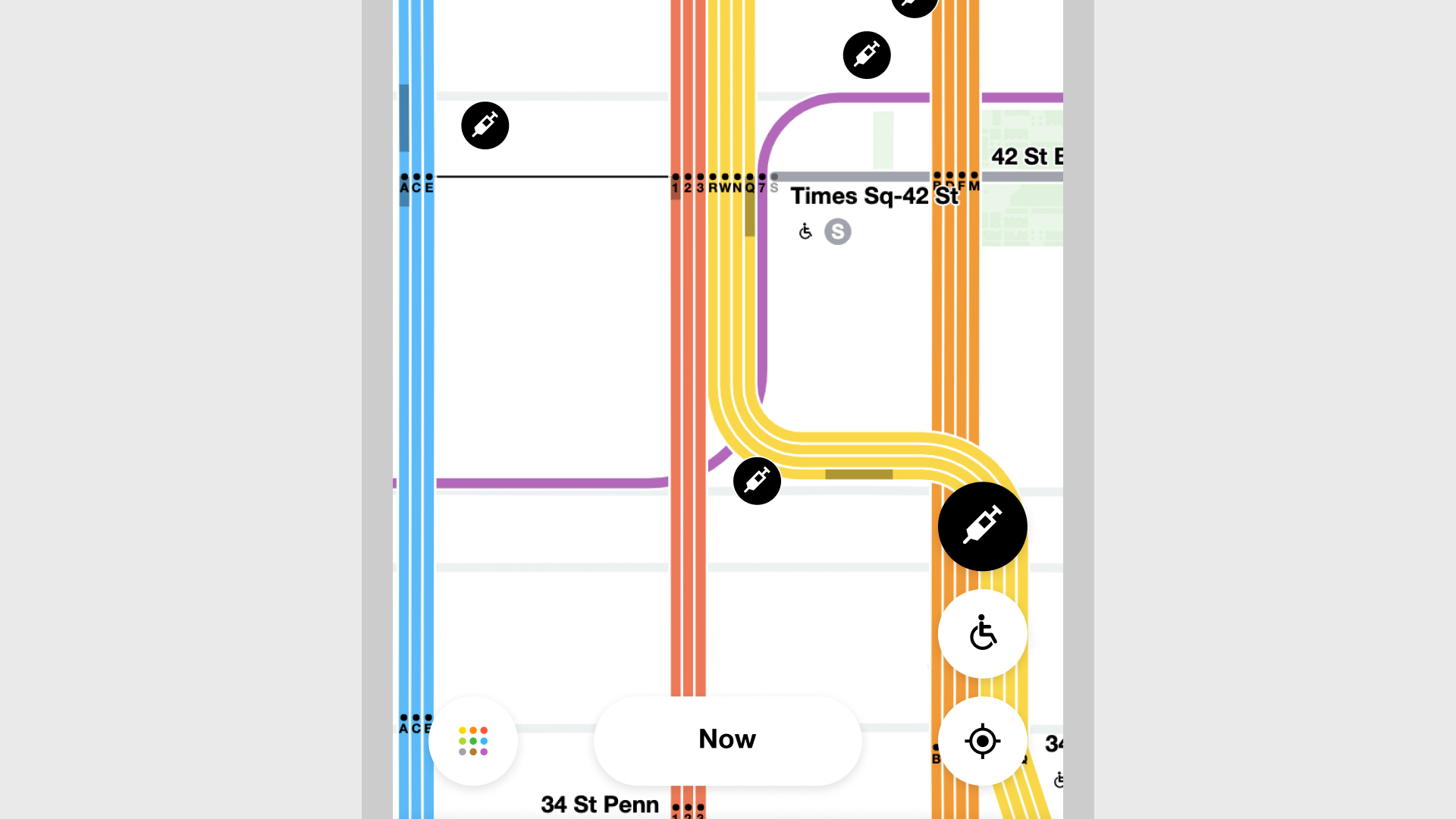MTA Vaccine app screen 7