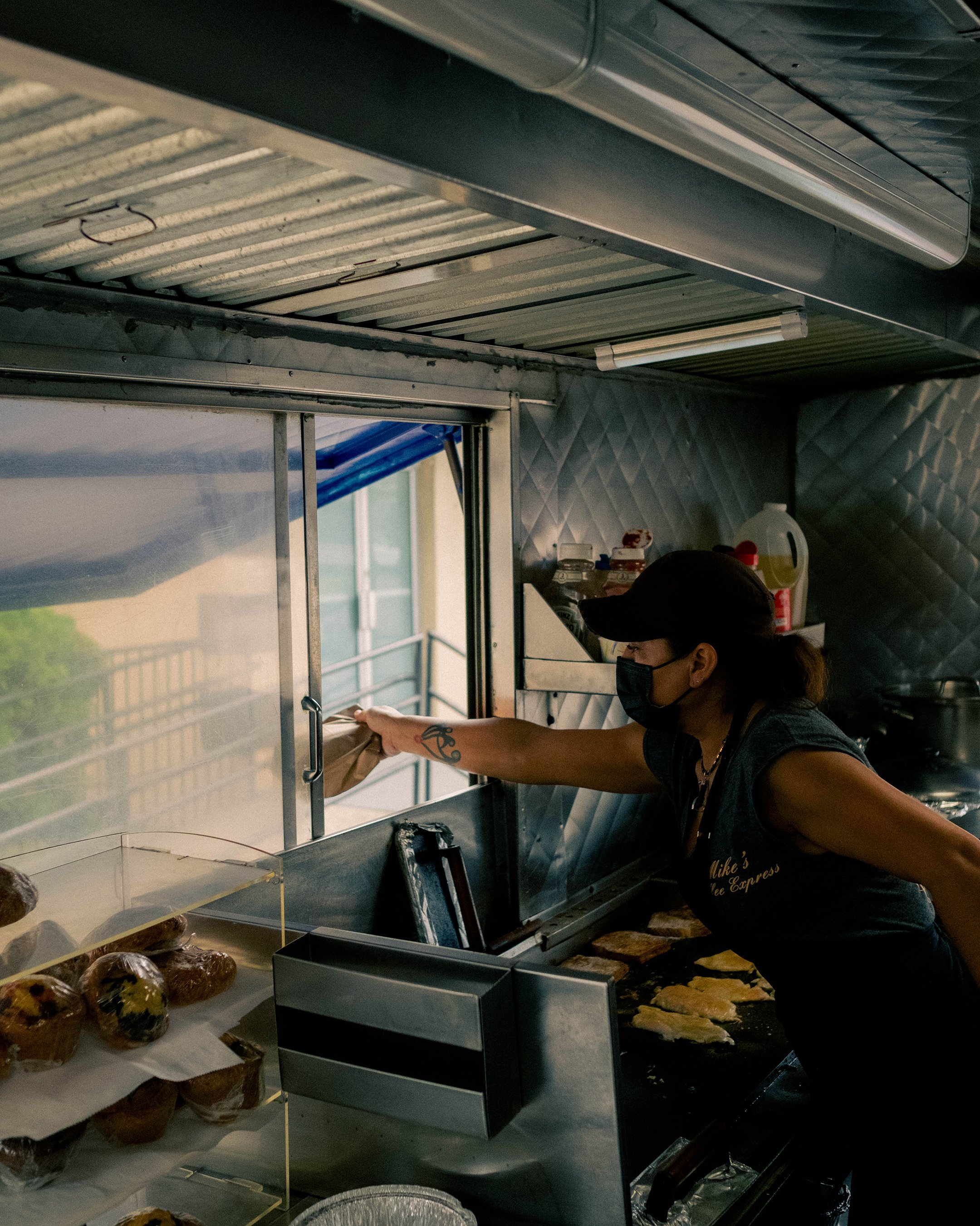 Maggie Morales runs Mike's Express