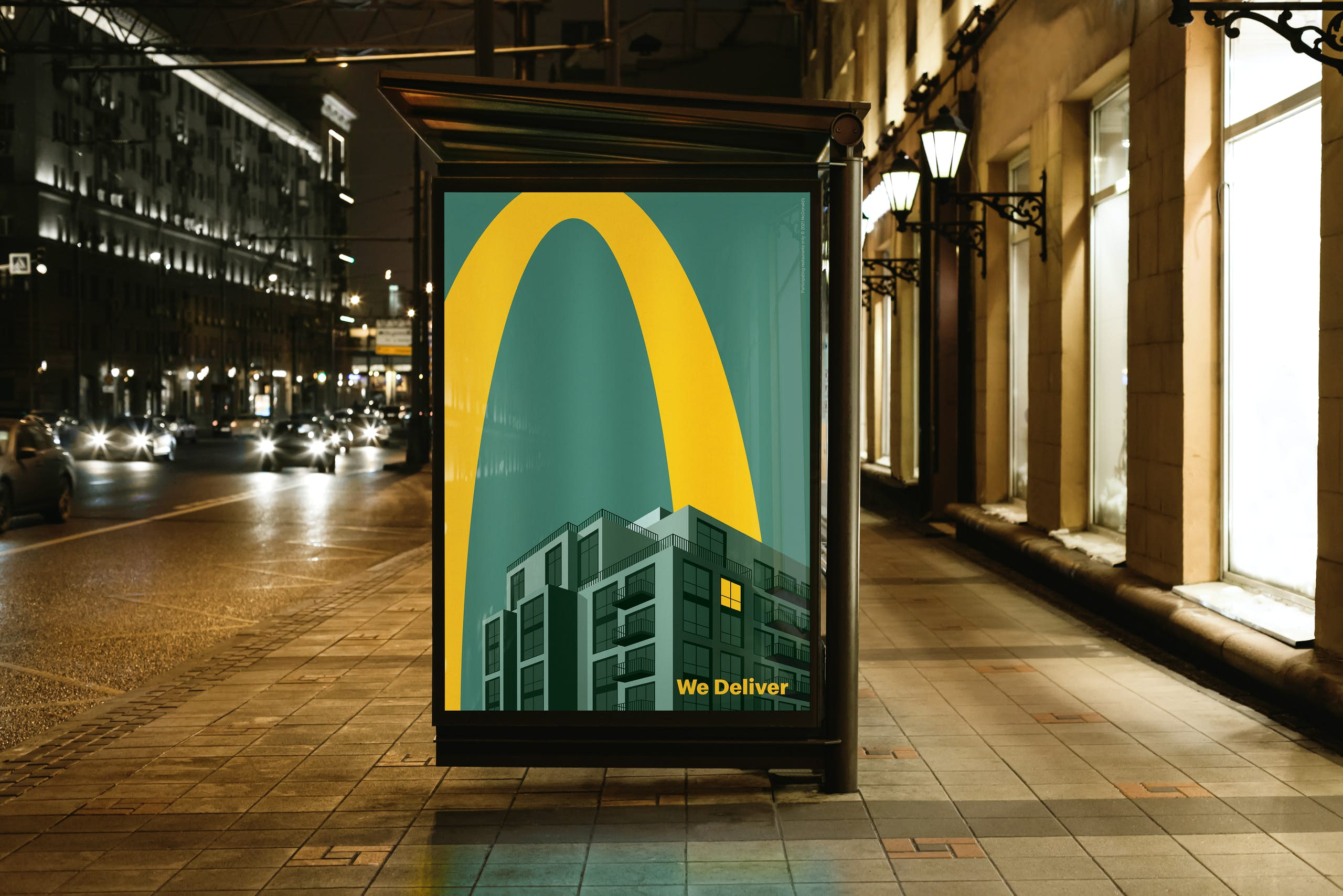 McDonalds Lights On 4
