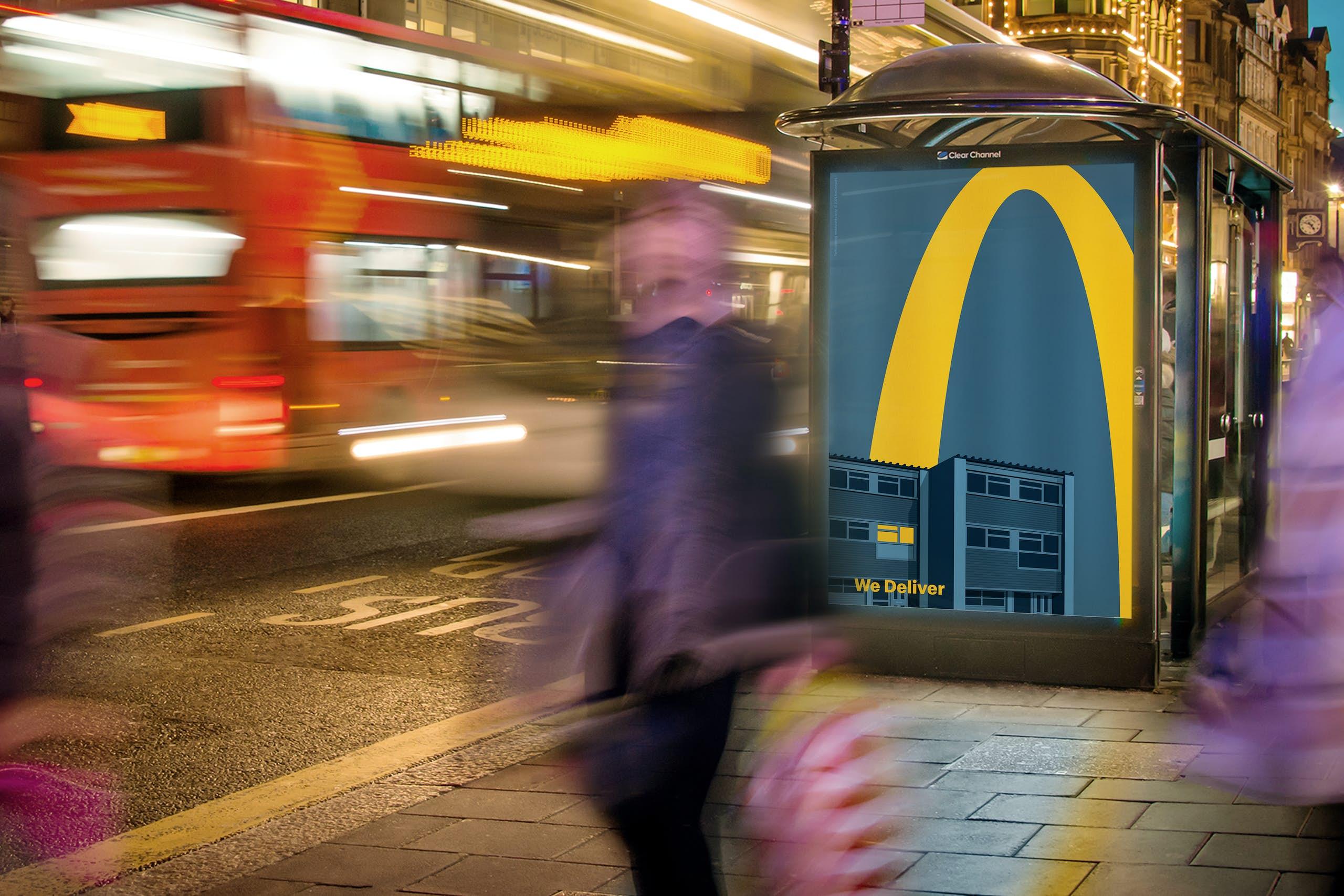 McDonalds Lights On 3