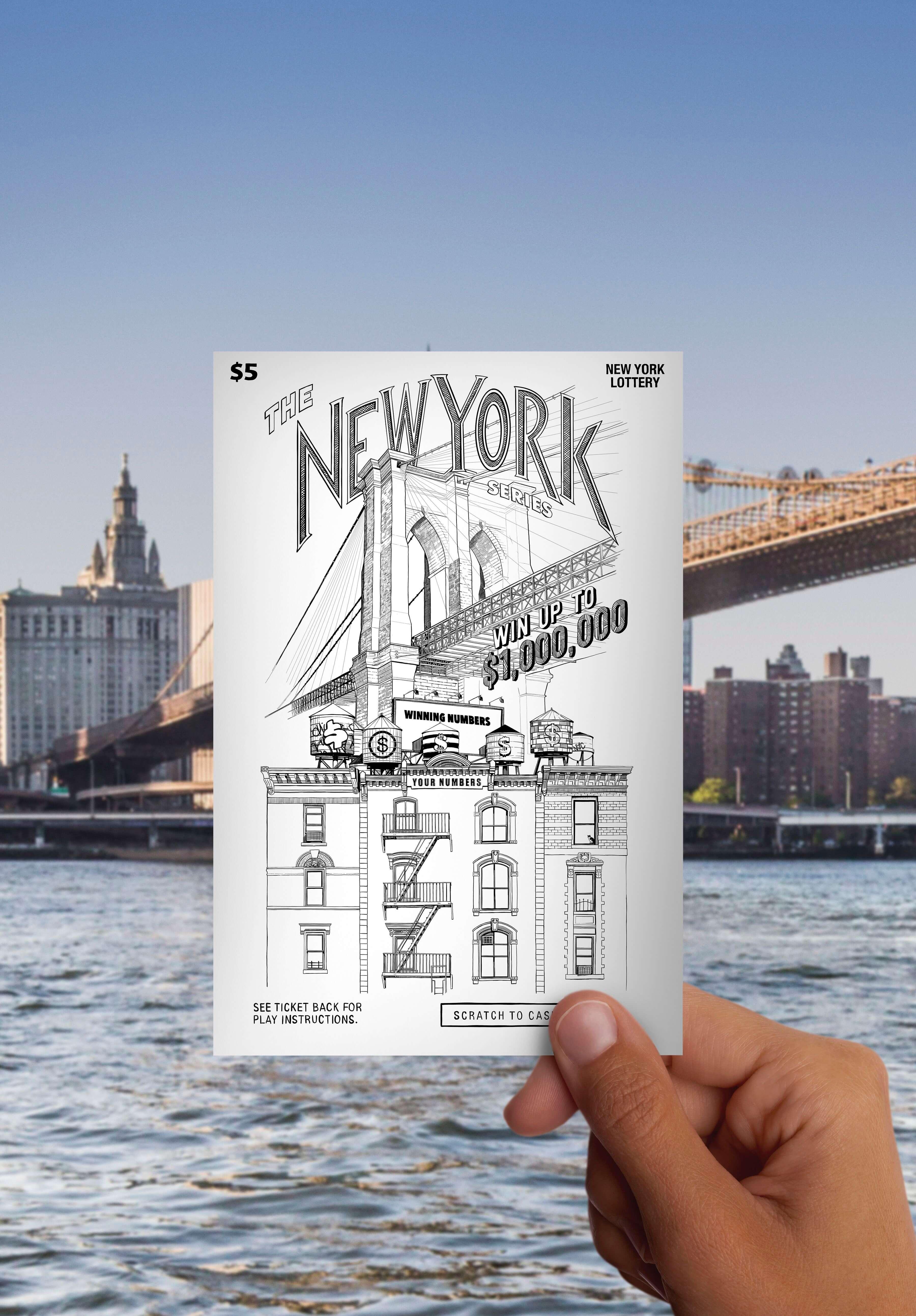 Drawing of the Brooklyn Bridge