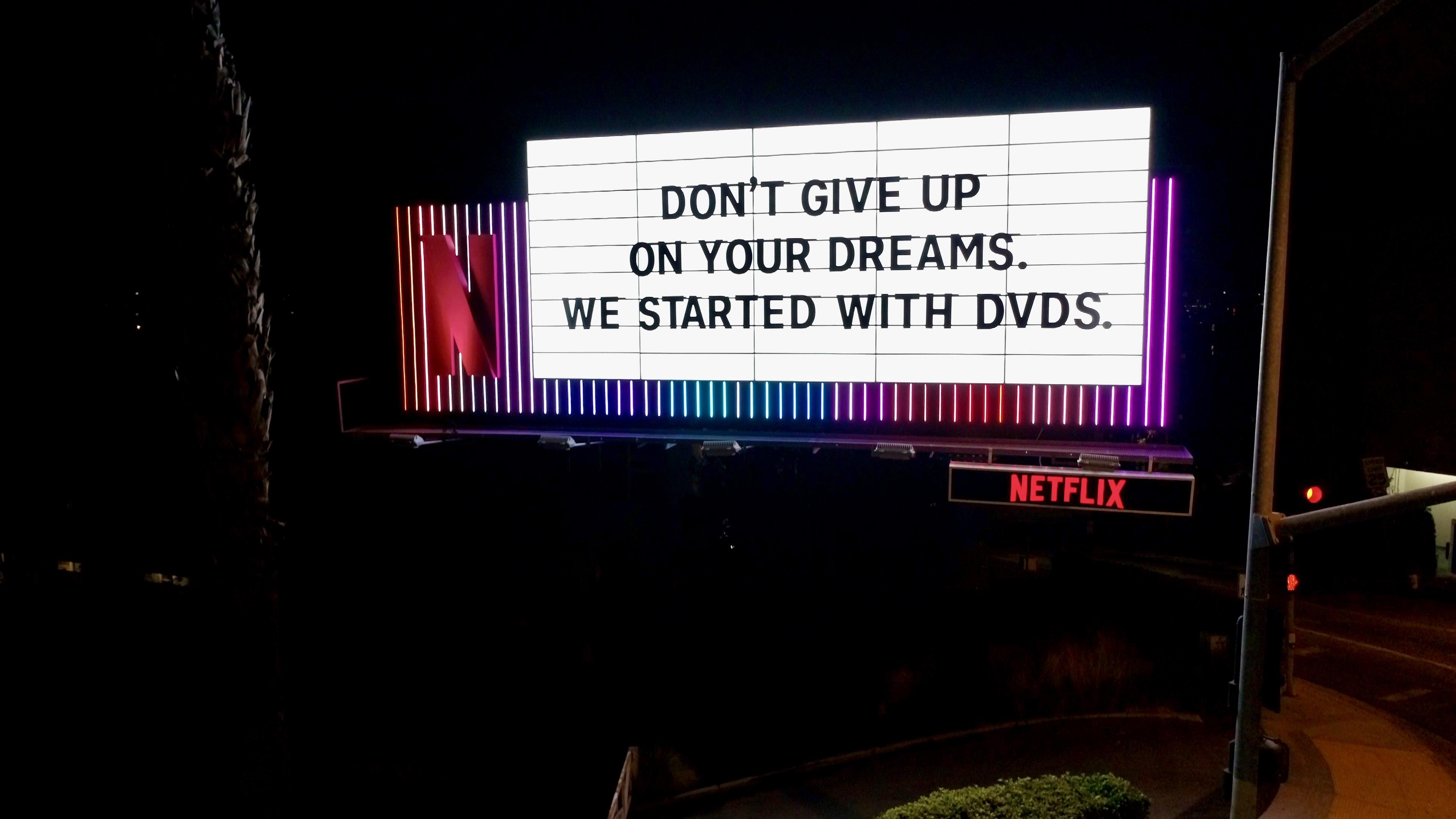 Netflix Billboard on Sunset