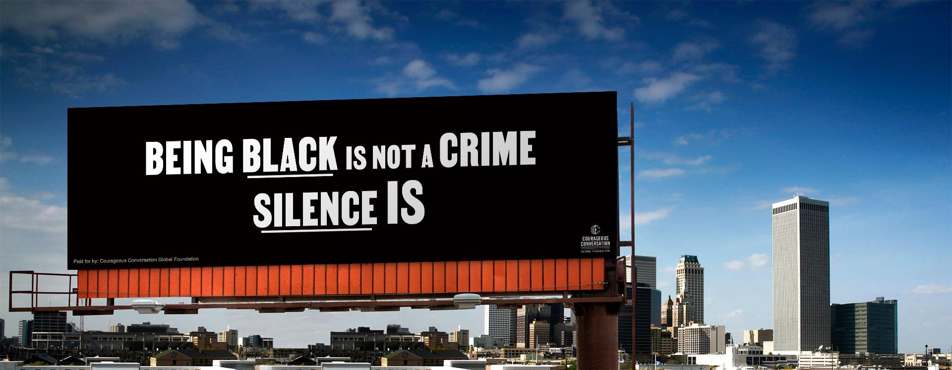 Not a Crime Outdoor Ad
