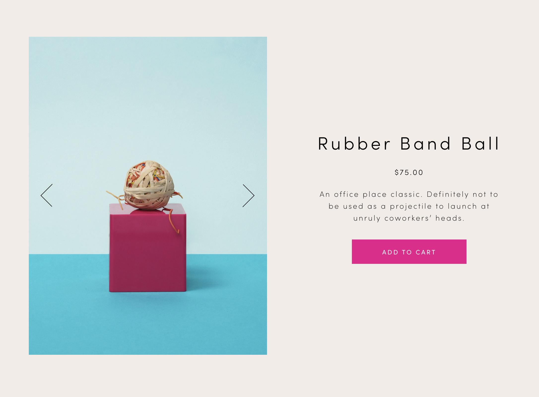TS Rubber Band Ball