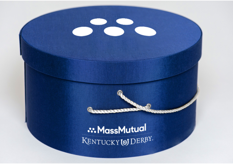 Mass Mutual Kentucky Derby hatbox