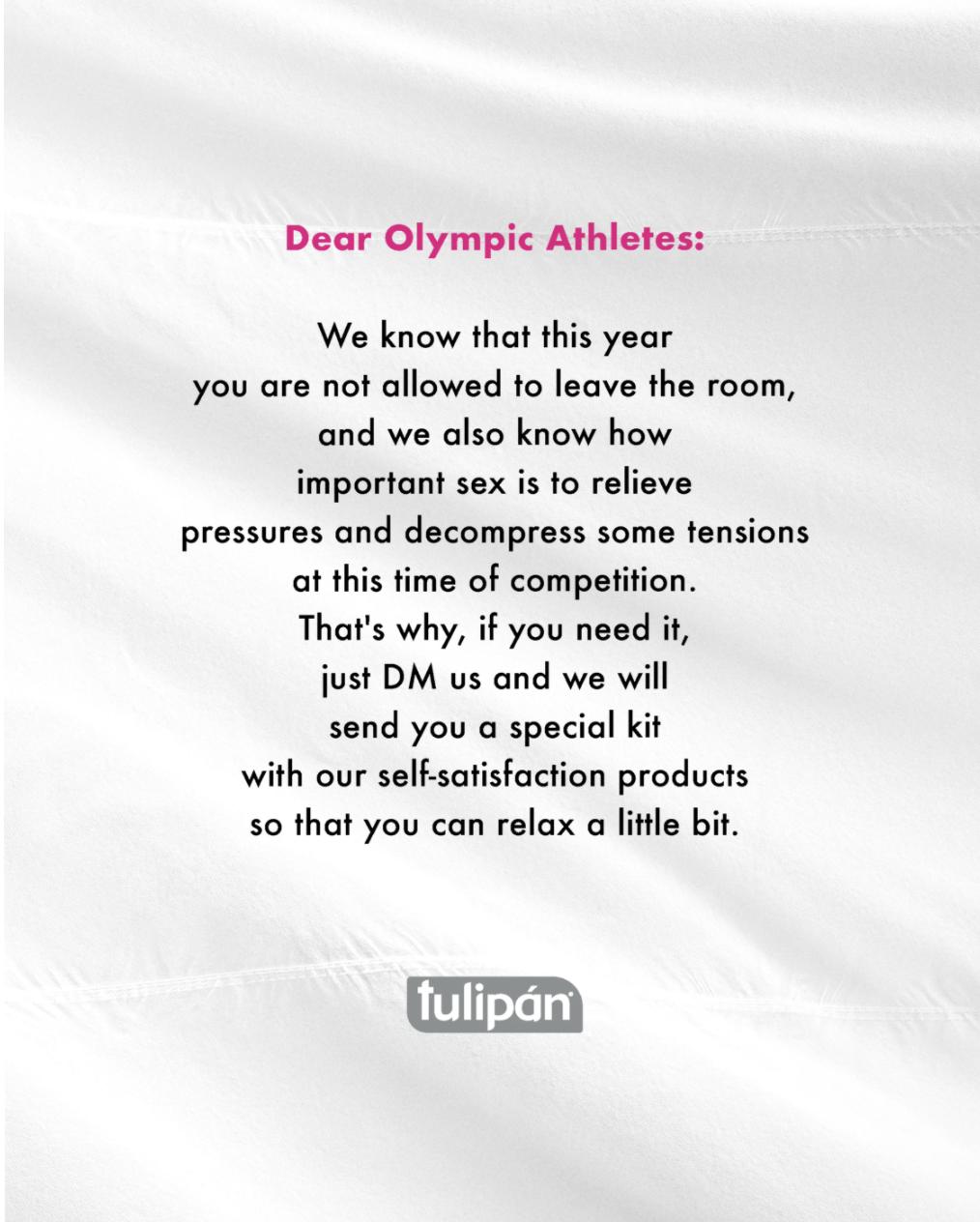 Tulipan Dear Athletes