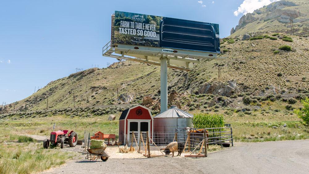 Traeger billboard 1