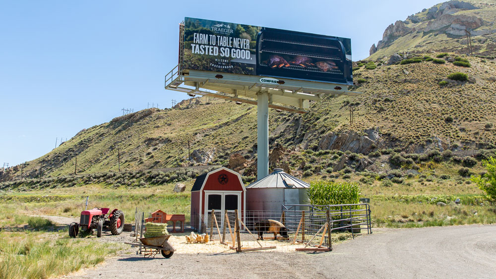 Traeger billboard 2