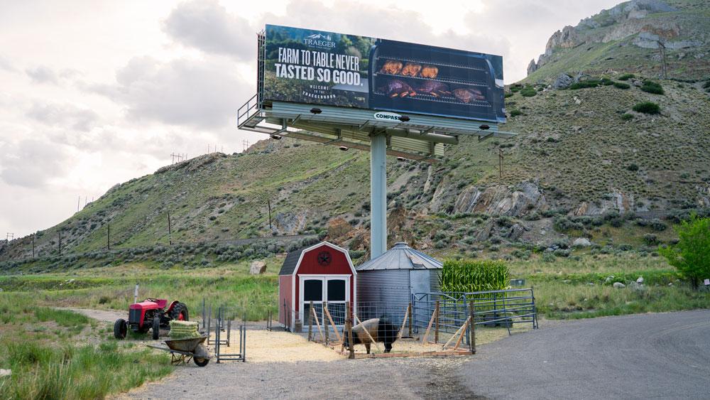 Traeger billboard 3