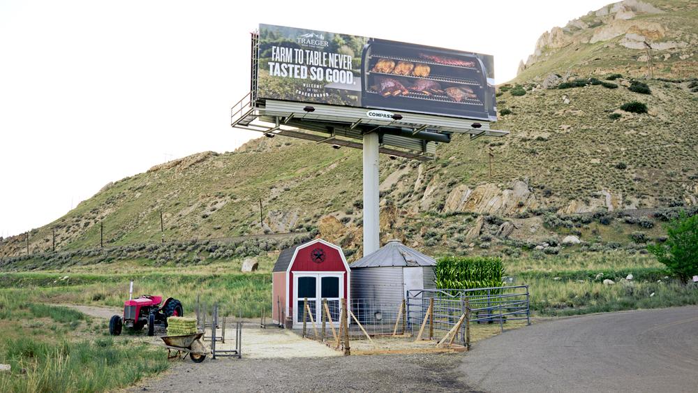 Traeger billboard 4