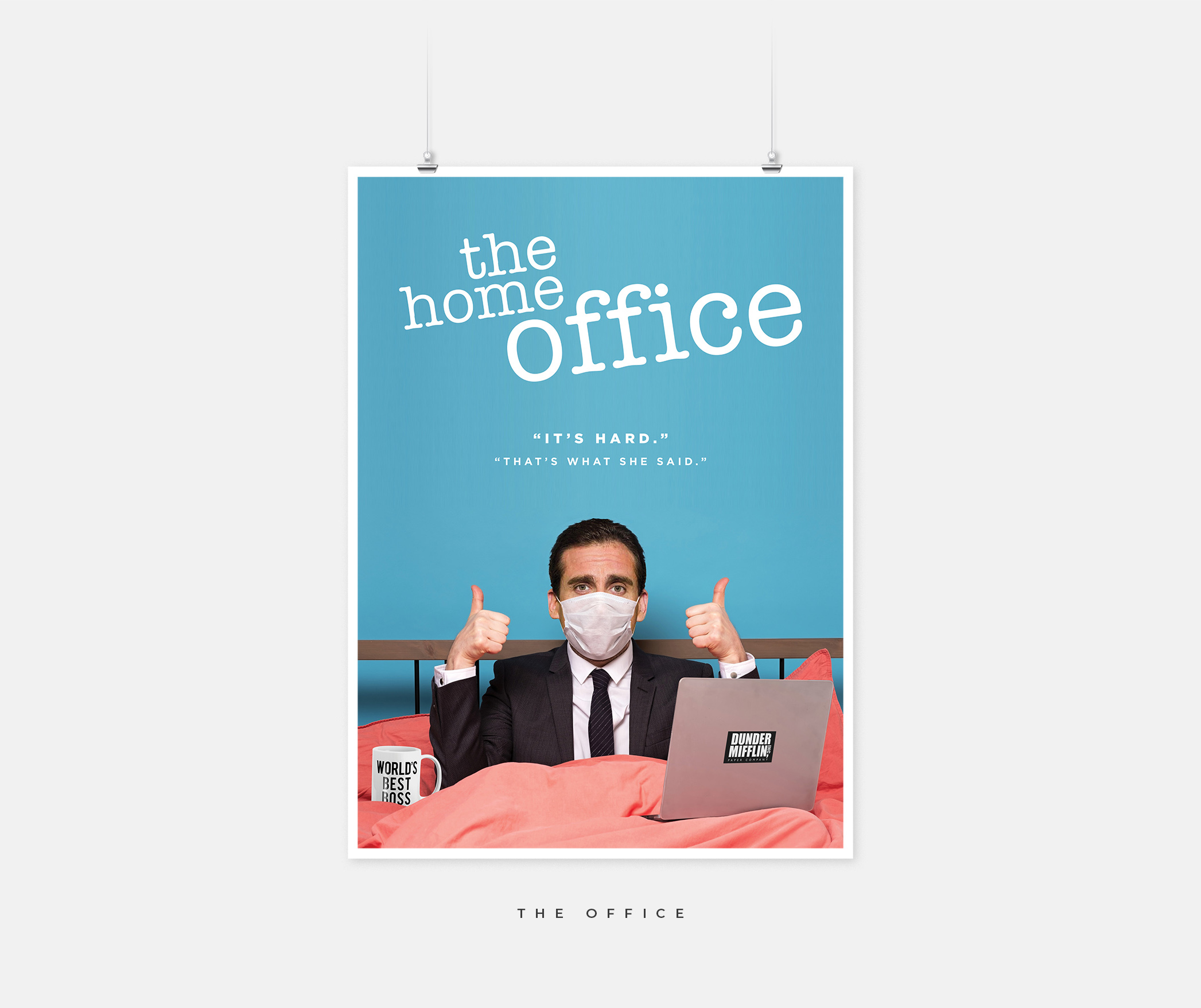 """The Office poster with the text """"The Home Office"""""""