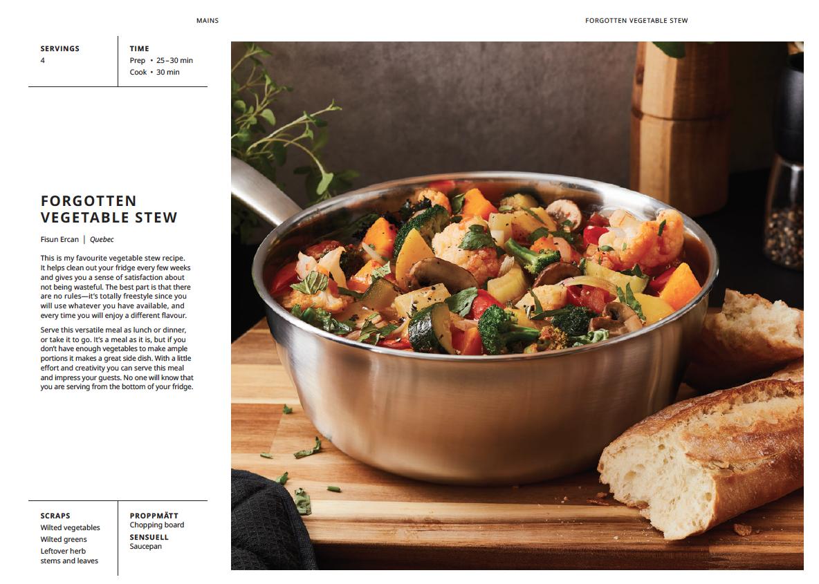 Forgotten vegetable stew