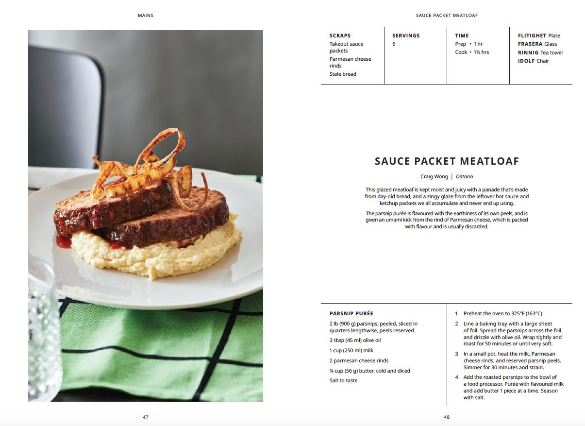 Sauce packet meatloaf