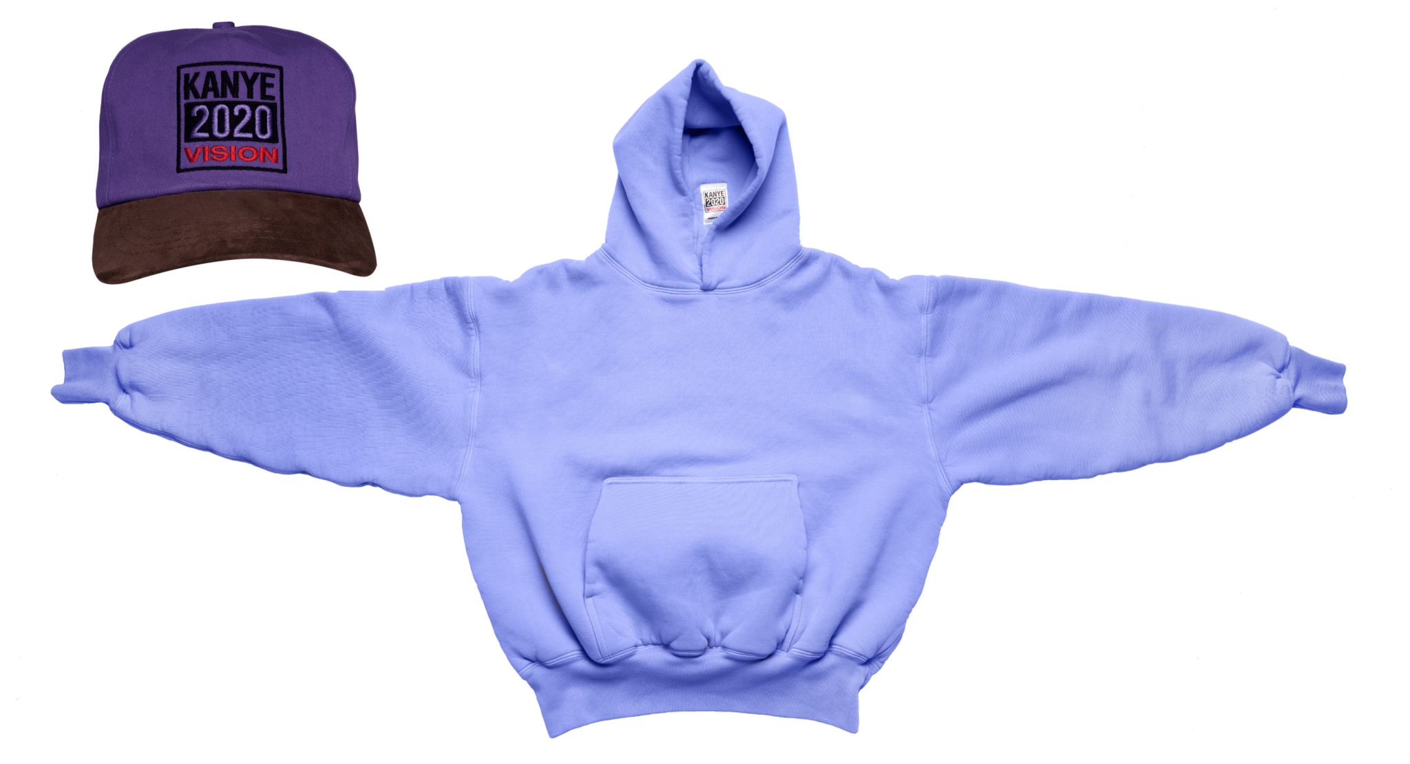 Kanye 2020 hat and hoodie