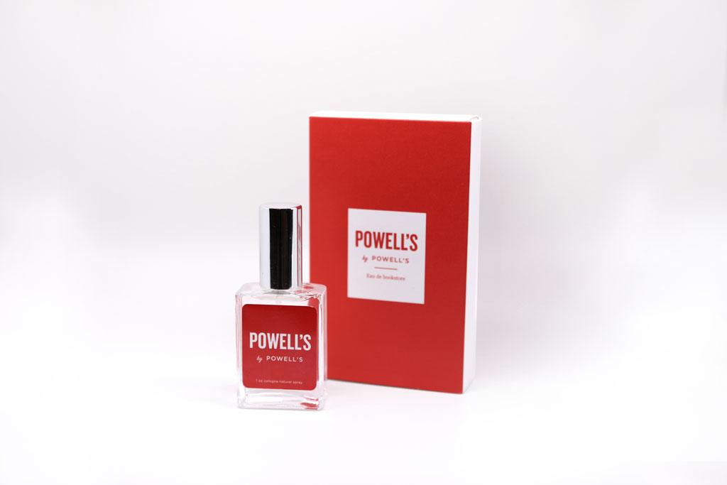 Powell's perfume packaging