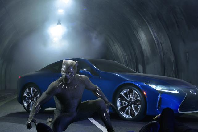 Watch: Black Panther Stars in Lexus Super Bowl Ad