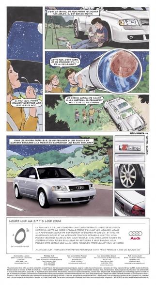 French Newspaper Comics