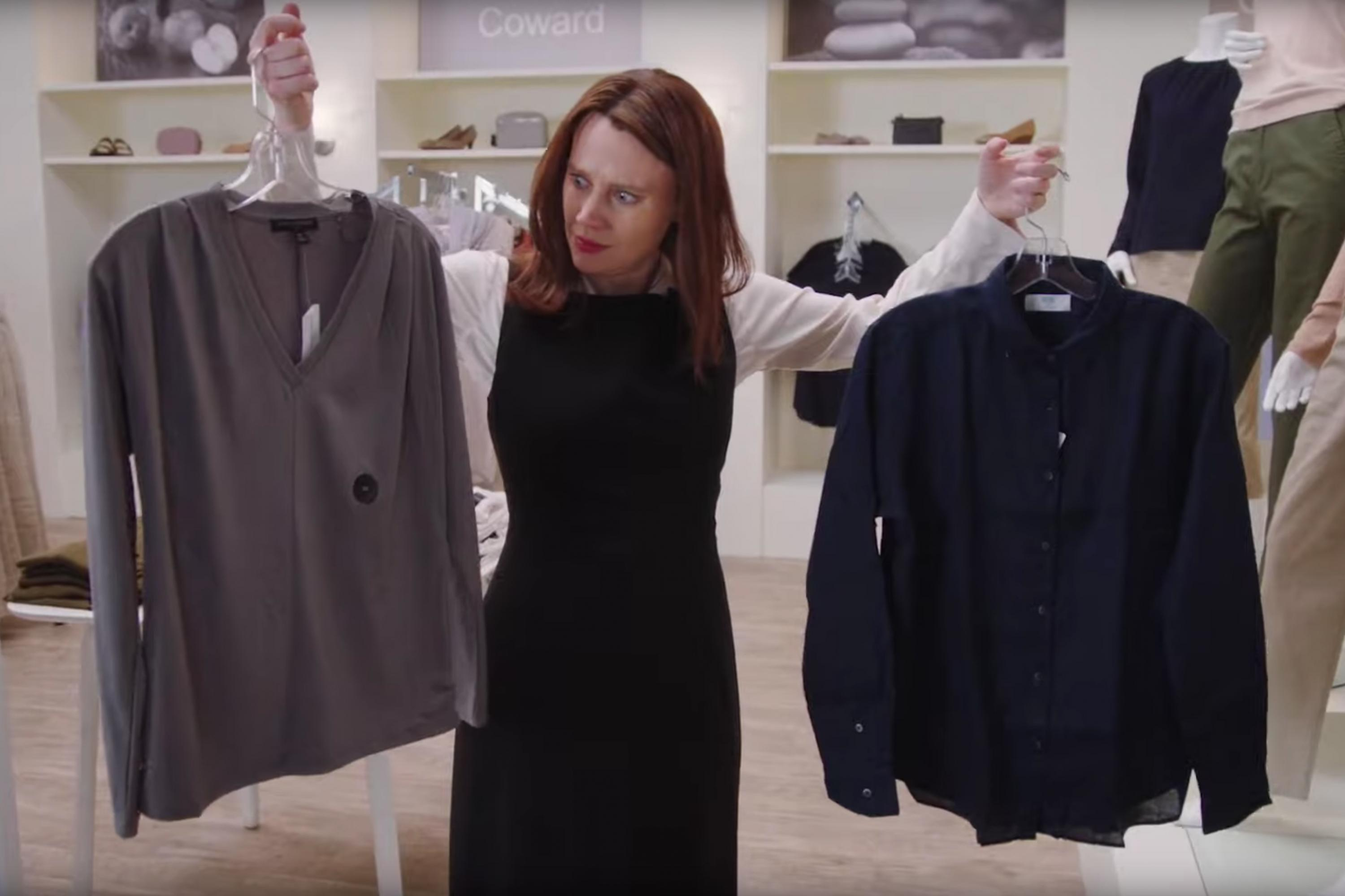 'Fashion Coward': Watch the 'SNL' commercial spoof that takes on Ann Taylor