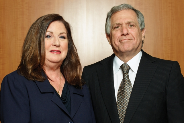 CBS ad sales chief voices support for Les Moonves