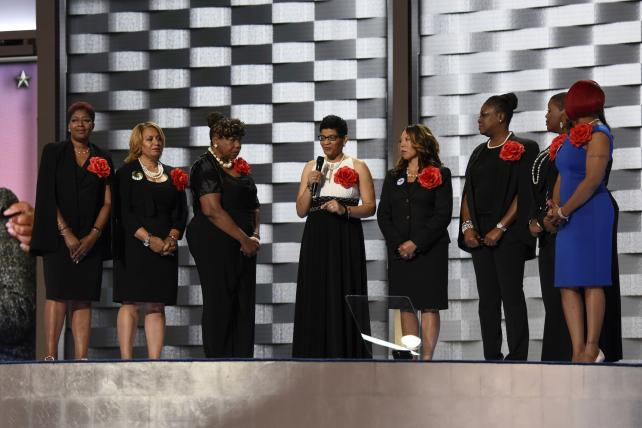 DNC Diary, Day 2: Grieving Mothers, Celebrities, More Celebrities and Bill