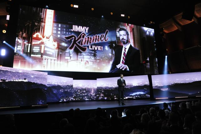 Wake-Up Call: The ABC upfronts, Jimmy Kimmel and 'Roseanne'