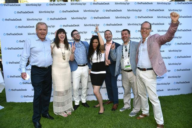 Slideshow: See Ad Age's Cannes Party for Our Cover Contest Winners and the Industry