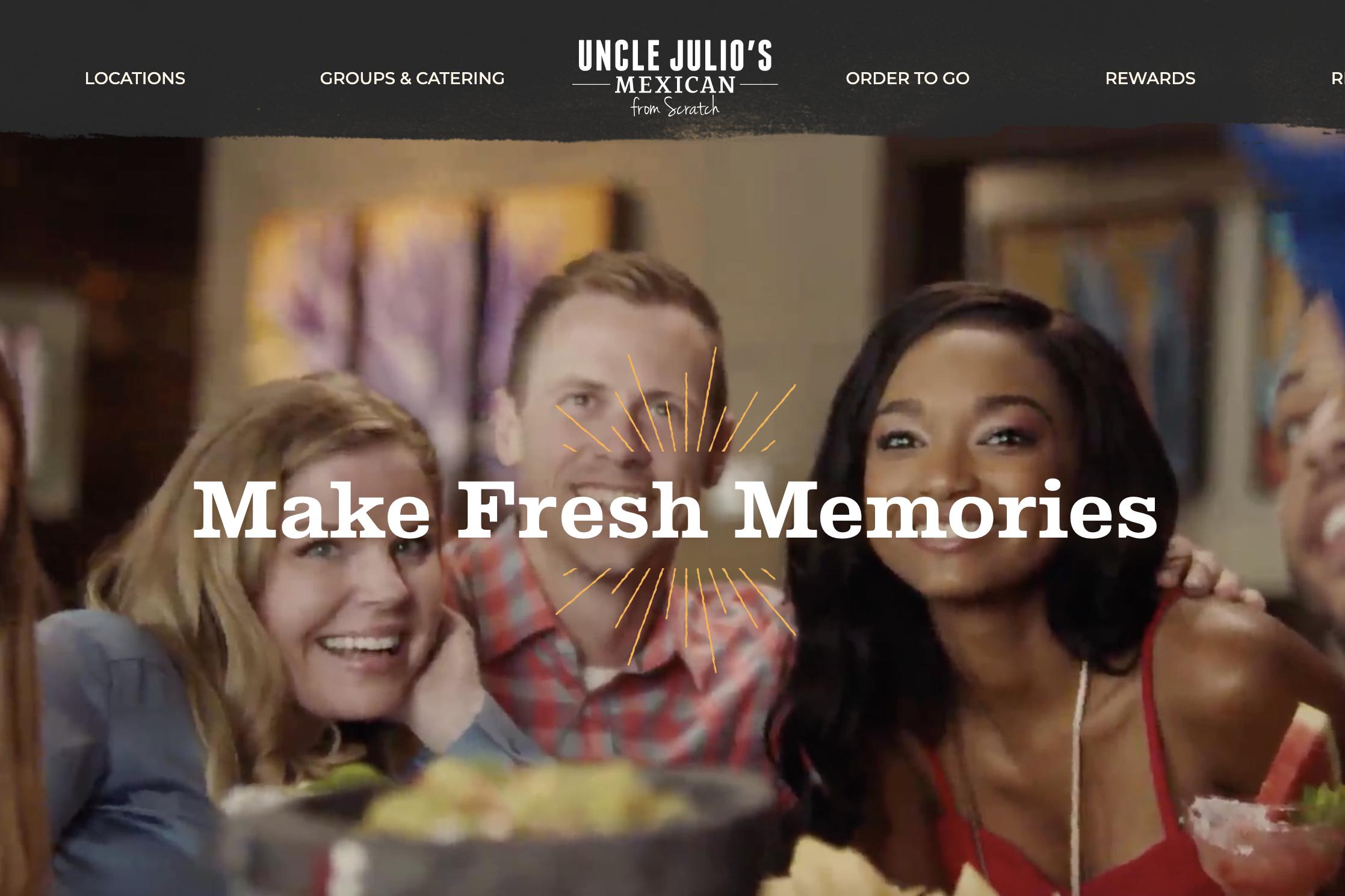 Uncle Julio's website