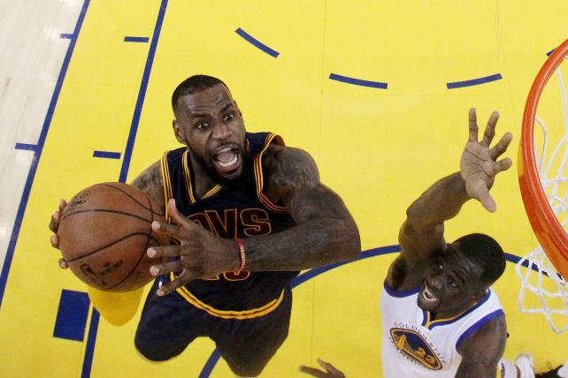 We Meet Again: Cavs-Warriors Rematch Is a Huge Draw for ABC