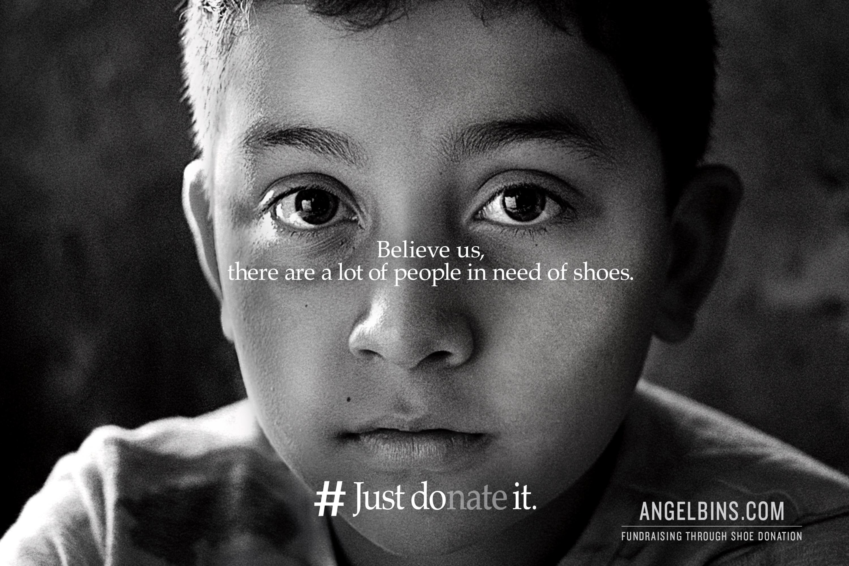 Angel Bins: #justdonateit
