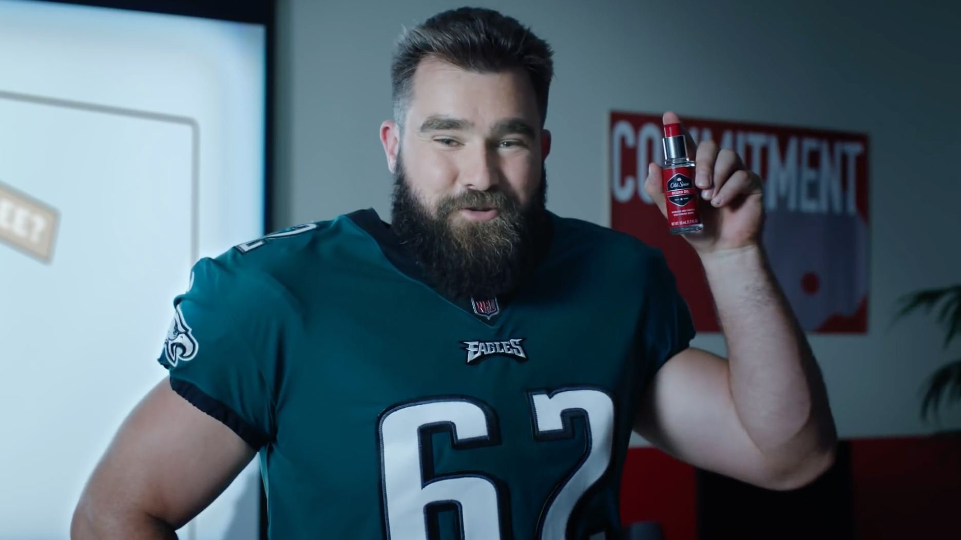 f08903aa99b7d NFL brothers Jason and Travis Kelce wrote a book about beard grooming  advice for Old Spice