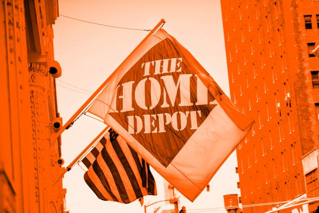 Home Depot plays up innovative products with new seal