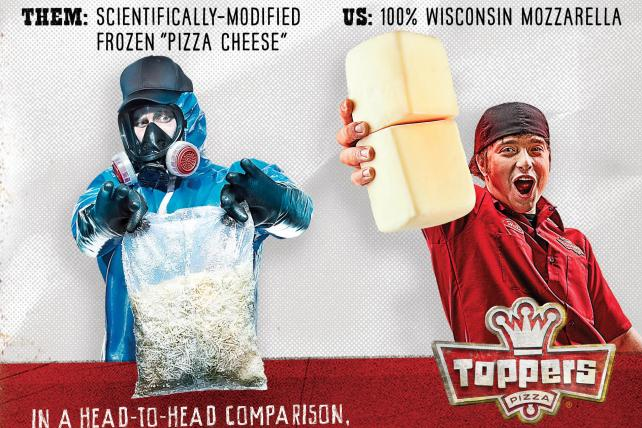 Toppers rolls out more ads despite Domino's cease and desist